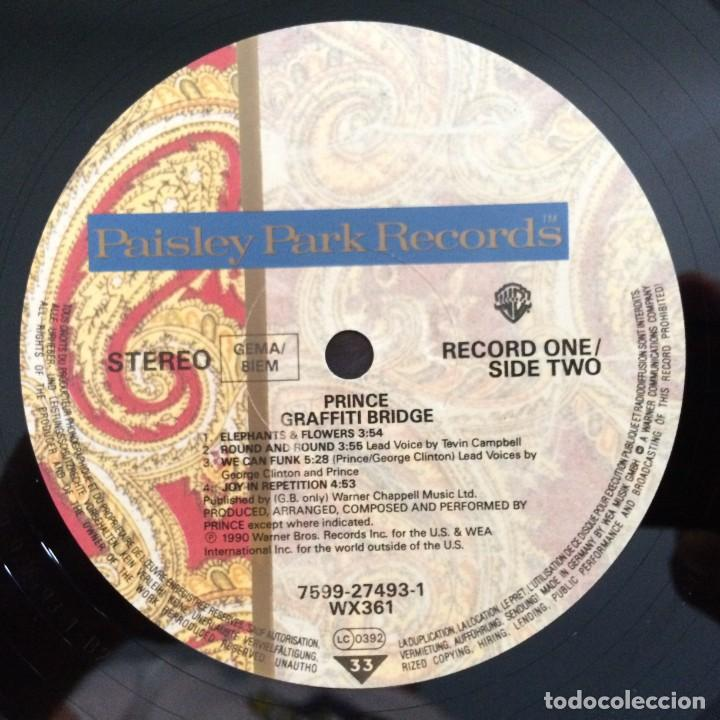 Discos de vinilo: Prince – Graffiti Bridge 2 Vinyls Germany,1990 Paisley Park - Foto 8 - 277243173