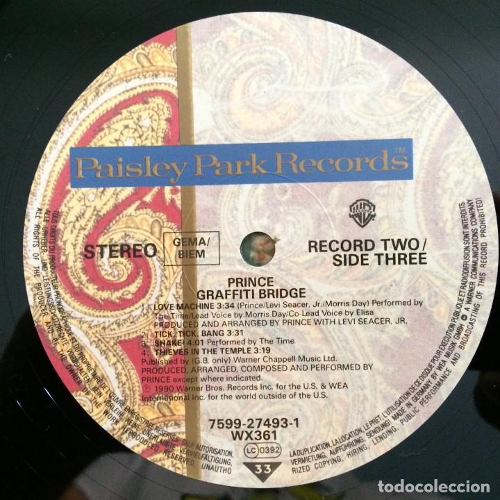 Discos de vinilo: Prince – Graffiti Bridge 2 Vinyls Germany,1990 Paisley Park - Foto 9 - 277243173