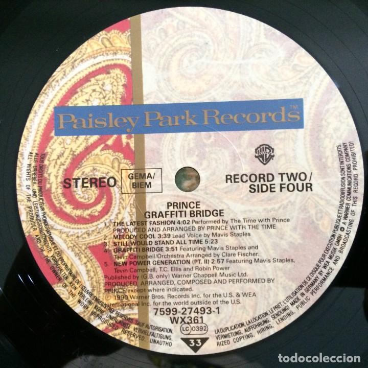 Discos de vinilo: Prince – Graffiti Bridge 2 Vinyls Germany,1990 Paisley Park - Foto 10 - 277243173