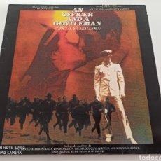 Discos de vinilo: AN OFFICER AND A GENTLEMAN = OFICIAL Y CABALLERO (BANDA SONORA ORIGINAL DE LA PELÍCULA) (LP, COMP). Lote 277245788