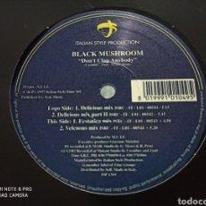"Discos de vinilo: BLACK MUSHROOM - DON'T CLAP ANYBODY (12""). Lote 277250473"