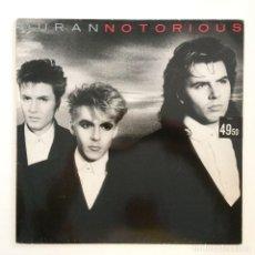 Discos de vinilo: DURAN DURAN – NOTORIOUS HOLANDA,1986 EMI. Lote 266432373