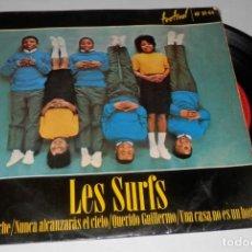 Discos de vinilo: UN VINILLO SINGLE DE LA BANDA LES SURFS. Lote 277263468