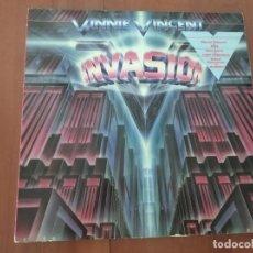 Discos de vinilo: - VINNIE VINCENT - INVASION - CHRYSALIS GERMANY. Lote 277263498