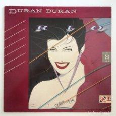 Discos de vinilo: DURAN DURAN – RIO GERMANY.1987 EMI. Lote 277263833