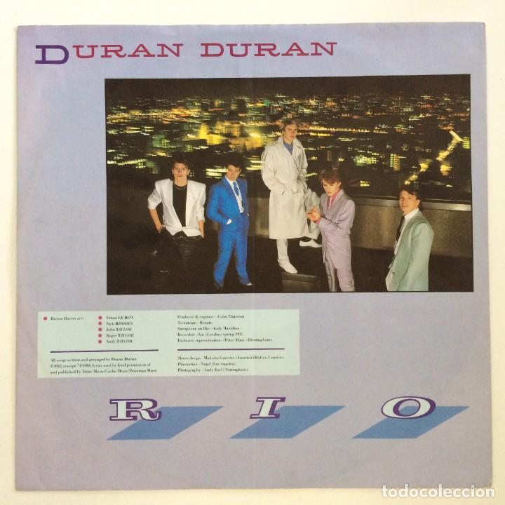 Discos de vinilo: Duran Duran – Rio Germany.1987 EMI - Foto 3 - 277263833