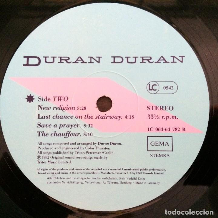 Discos de vinilo: Duran Duran – Rio Germany.1987 EMI - Foto 6 - 277263833