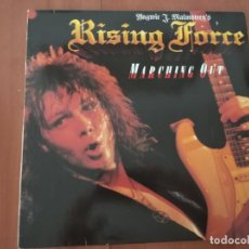 Discos de vinilo: - YNGWIE J.MALMSTEEN´S RISING FORCE - MARCHING OUT - POLYDOR GERMANY. Lote 277263878