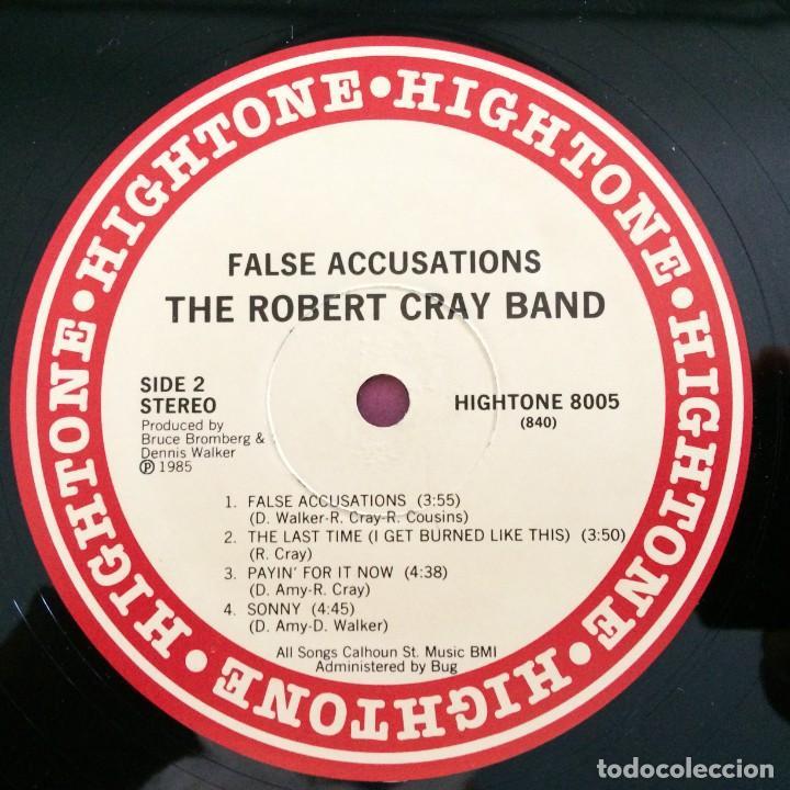 Discos de vinilo: The Robert Cray Band – False Accusations USA,1985 Hightone Records - Foto 4 - 277266728