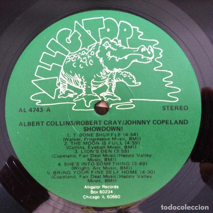 Discos de vinilo: Albert Collins - Robert Cray - Johnny Copeland – Showdown! USA,1985 Alligator Records - Foto 3 - 277268788