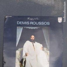 Discos de vinilo: DISCO HAPPY TO BE DEMIS ROUSSOS. Lote 277271368