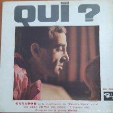 Discos de vinilo: VINILO CHARLES AZNAVOUR (QUI ?). Lote 277271643