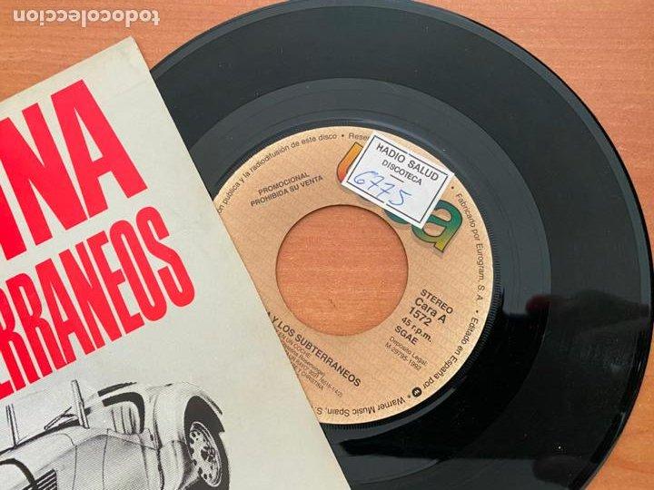 Discos de vinilo: CHRISTINA Y LOS SUBTERRANEOS (VOY EN UN COCHE) SINGLE 1992 PROMO (EPI24) - Foto 2 - 277271843