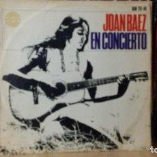 Discos de vinilo: JOAN BAEZ - JOAN BAEZ EN CONCIERTO - LP AÑO 1966 - 1 EDICIÓN ORIGINAL EN MONO - LEER DESCRIPCIÓN. Lote 277271948