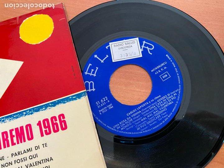 Discos de vinilo: CARLOS LAPORTA (EXITOS SAN REMO) EP 1966 (EPI24) - Foto 2 - 277272178