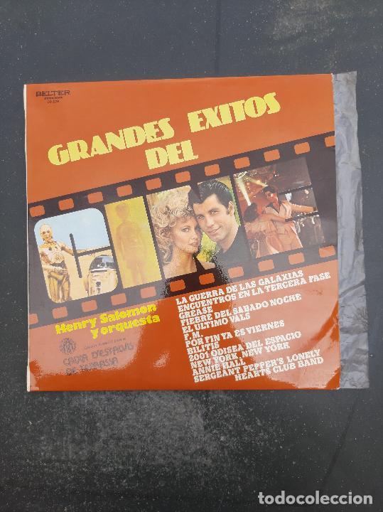 DISCO GRANDES EXITOS DEL CINE (LA GUERRA DE LAS GALAXIAS,GREASE,ENCUENTROS EN LA TERCERA FASE ETC) (Música - Discos - Singles Vinilo - Otros estilos)