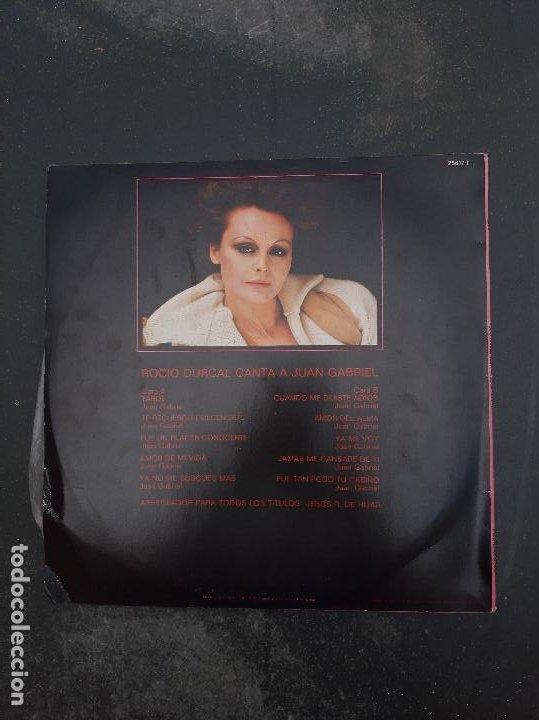 Discos de vinilo: Disco Rocio Jurado Canta a Juan Gabriel - Foto 2 - 277273363