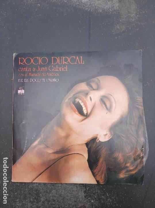 DISCO ROCIO JURADO CANTA A JUAN GABRIEL (Música - Discos - Singles Vinilo - Otros estilos)