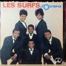 Discos de vinilo: LES SURFS - LES SURFS A L'OLYMPIA - LP AÑO 1964 - EDICIÓN ORIGINAL FRANCESA - LEER DESCRIPCIÓN. Lote 277273388