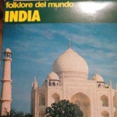 Discos de vinilo: INDIA-FOLKLORE DEL MUNDO-VOL.6. Lote 277273858