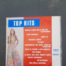 Discos de vinilo: DISCO TOP HITS-LOS DOCE MÁS. Lote 277273993