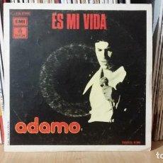 Discos de vinilo: **ADAMO - ES MI VIDA / LOS CAMPOS ES PAZ - SG AÑO 1975 - PROMOCIÓN - LEER DESCRIPCIÓN. Lote 277274393