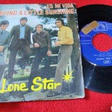 """Discos de vinilo: LONE STAR - ES MI VIDA/ BRING A LITTLE SUNSHINE **PROMO** 7"""" 1969. Lote 277274678"""