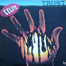 Discos de vinilo: TRUST L´ELITE LP CON INSERTO. Lote 277274743