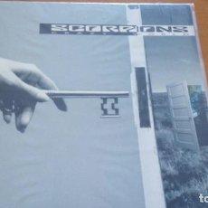 Discos de vinilo: SCORPIONS CRAZY WORLD LP SPAIN 1990 CON INSERTO. Lote 277275013