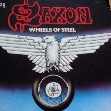Discos de vinilo: SAXON WHEELS OF STEEL LP. Lote 277275128