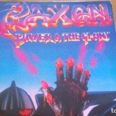 Discos de vinilo: SAXON POWER & THE GLORY LP. Lote 277275238