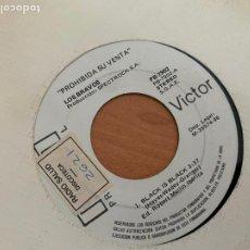 Discos de vinilo: LOS BRAVOS (BLACK IS BLACK + 1) SINGLE 1986 PROMO (EPI24). Lote 277276818