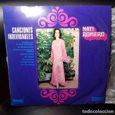Discos de vinilo: NATI ROMERO CANCIONES INOLVIDABLES LP VINILO 10 INCH 1971-ORLADOR ESPAÑA -LATIN POP FLAMENCO- VG+/VG. Lote 277276993