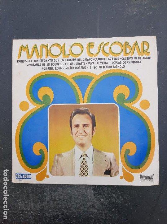DISCO MANOLO ESCOBAR (Música - Discos - Singles Vinilo - Otros estilos)