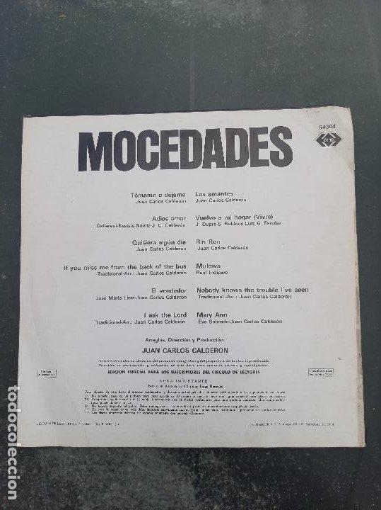 Discos de vinilo: Disco Mocedades - Foto 2 - 277278108