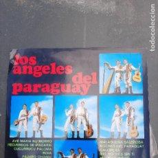 Discos de vinilo: DISCO LOS ANGELES DEL PARAGUAY. Lote 277278248