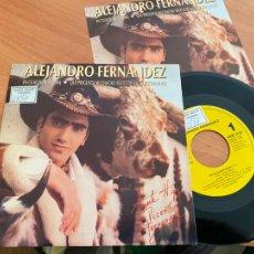 Discos de vinilo: ALEJANDRO FERNANDEZ (EN CUALQUIER IDIOMA) SINGLE 1992 ESPAÑA PROMO (EPI24). Lote 277278388