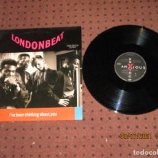 Discos de vinilo: LONDOBEAT - I´VE BEEN THINKING ABOUT YOU - MAXI - SPAIN - ANXIOUS RECORDS - LV -. Lote 277278558