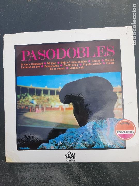 DISCO PASODOBLES (Música - Discos - Singles Vinilo - Otros estilos)