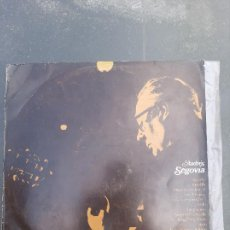 Discos de vinilo: DISCO ANDRÉS SEGOVIA. Lote 277279688
