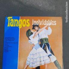 Discos de vinilo: DISCO TANGOS INOLVIDABLES. Lote 277280933