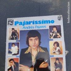 Discos de vinilo: DISCO PAJARÍSSIMO DE ANDRÉS PAJARES. Lote 277281403