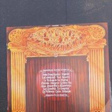 Discos de vinilo: DISCO ANTOLOGÍA DE LA ZARZUELA VOL.1. Lote 277281928