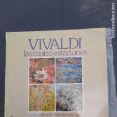 Discos de vinilo: LAS CUATRO ESTACIONES DE VIVALDI. Lote 277282643