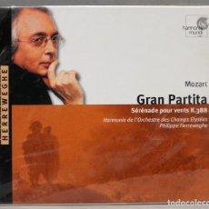 Discos de vinilo: CD. SERENADE GRAN PARTITA. MOZART. HERREWEGHE. Lote 277283833