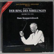 Discos de vinilo: CAJA CD. RICHARD WAGNER. DER RING DES NIBELUNGEN. BAYREUTH 1956. HANS KNAPPERTSBUSCH. Lote 277284963