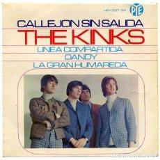 Discos de vinilo: KINKS CALLEJON SIN SALIDA. Lote 277285083