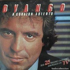 Discos de vinilo: DYANGO - CORAZON ABIERTO - ALBÚM DOBLE CON ROS DISCOS LP. Lote 277285273
