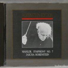 Discos de vinilo: CD. SYMPHONY 7. MAHLER. HORENSTEIN. Lote 277285873