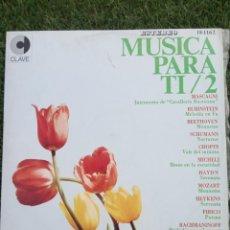 Discos de vinilo: VINILO LP MUSICA PARA TI VOL.2. Lote 277285968